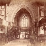 St Leonard's in 1890, photograph by CE Hill