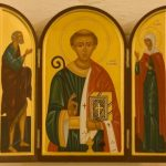 Icon of St Leonard and St Laura